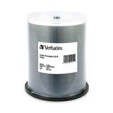 Cd-r Grabable 700mb Blanco Verbatim (torre 100 Und) - 95251