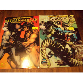Batman Vs Tarzan - Dc Comics