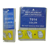 Combo Cartucho T013 Y T014 Para Impresoras Epson