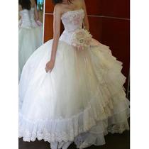 Vestido Beige | Palo De Rosa Xv Años