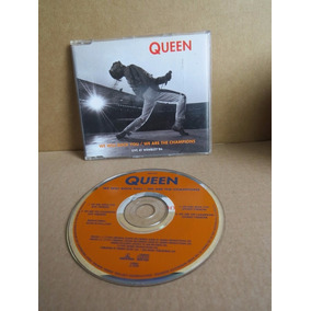 Cd Single Queen We Will Rock You / We Are The Champions Live