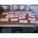 Antiguos Billetes De 5 Bolivares 21 De Sep 1989 Coleccion