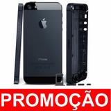 Chassi Aro Carcaça Iphone 5 5g Preta Original + Botões