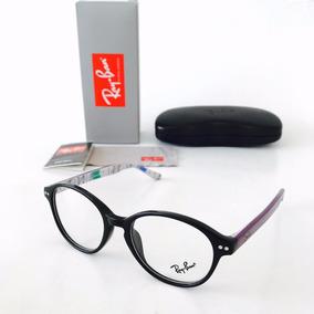 Gafas Ray Ban Montura 5193 6021 50-21 Negro Morado Original