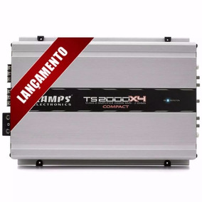 Amplificador Digital Ts-2000x4 4 Canais Rms 2 Ohms Taramps