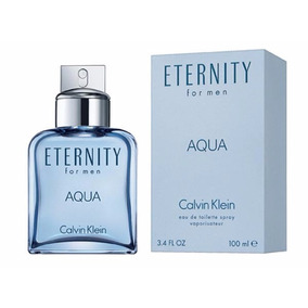 Perfume Eternity Aqua Calvin Klein For Men 100ml Edt - Novo