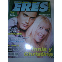 Christina Aguilera - Revista Eres - Portada Y Reportaje 2000