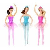 Muñeca Barbie Bailarina Original Colores Surtidos Para Nena