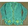 Saco Dama Artesanal Tejido Al Crochet