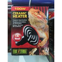 Foco Exo Terra Ceramico 100w Reptiles Camaleones Tortuga