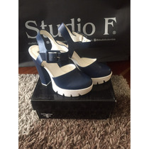 Zapatos Navy Studio F