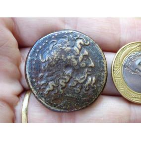Grande Moeda Egito Ptolomeu Ill 220 Ac Promoção