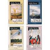 Julio Verne Lote X 4 Libros Viaje Al Centro De La Tierra