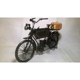 Moto Eletrica Adler 1903 Escala 1;8 Replica