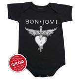 Body Bon Jovi Bebê Bori Bodies Roupinha