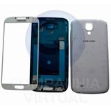 Carcaça Completa Aro, Chassi + Vidro Galaxy S4 I9500 - I9505