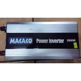 Inversor 5000wats Pico C/2500w Real Continuo 12v P/110