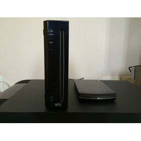 Vendo Wii Preto Desbloquado C/hd Externo 250 Gb