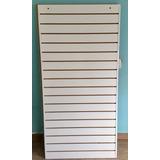 Painel Canaletado Branco Mdf 0,92mt X 1,85mt Placa