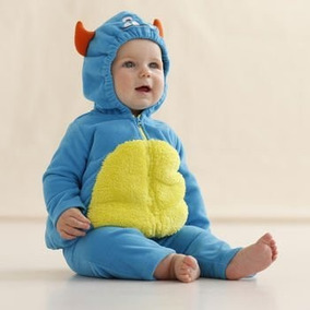 Disfraz Carters De Monstruo Para Bebe, Monsters Blue, Nuevos