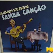 Os Maiores Sucessos Do Samba Canção 1984 Lp Maria Bethânia