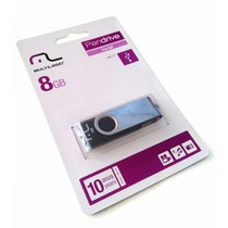 Kit 10 Pen Drive 8gb Multilaser Original Lacrado Atacado