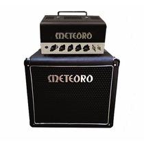 Amplificador Meteoro Guitarra Mht Valvulado Cabeçote + Caixa