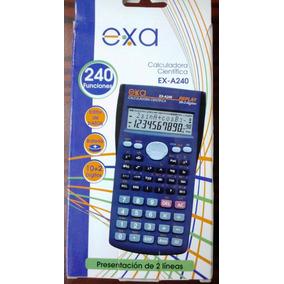 Calculadora Cientifica Exa A240 - Envio Gratis Por Mrw.