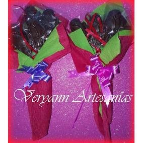 Rosas De Chocolate Dia Del Maestro Enamorados Madre Pascuas