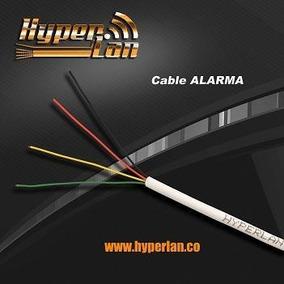 Cable Alarma Telefónico Hyperlan 2 Pares 4 Colores Hyperlan