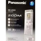 Gravador De Voz Panasonic Rr-us551 Novo Lacrado # Envio Já