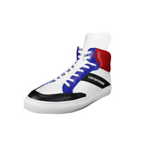 Zapatillas Emporio Armani Para Hombre - Blanco Tamaño 7 Us