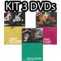 Kit 3 Dvd Cinemateca Veja Abril Filme Clássicos Cinema Cult
