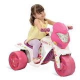 Moto Elétrica Infantil Menina - 6v - Bandeirante 2581
