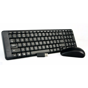 Kit Teclado Y Mouse Inalambrico Wireless 2.4g Logitech Mk220