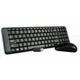 Kit Teclado Y Mouse Inalambrico Wireless 2.4g Logitech Mk220