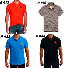 Kit 2 Camisetas Polo Abercrombie & Fitch E Hollister!!!
