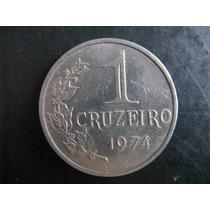 3 Moeda Brasileira Antiga -1 Cruzeiro(1974,1975,1976)