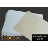 Papel Cartão Duplex 275gr A4 Pacote Com 500 Fls