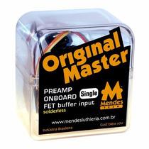 Pre Amplificador Contrabaixo Om Single Com Chave Bypass
