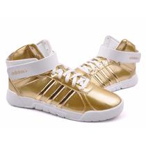 Zapatilla Adidas Dama Rhythm Lite Mid - Sagat Deportes
