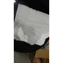 Kit 4 Peças Toalhas Brancas