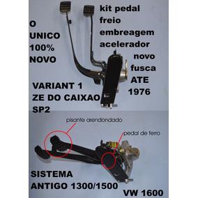 Pedal Embreagem Freio Acelerador Fusca Karma Guia Sp2 Novo