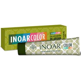 Inoar Color Coloração Tintura 50g N° 1/0 Preto