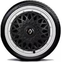 Calota Jogo Bbs Sandero Logan Symbol Aro 15 Renault G602pbpj
