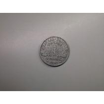 Moeda França 1 Franc 1942 Alumínio