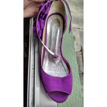 Sapato De Noiva Roxo
