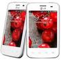 Smartphone Lg Optimus L3 Ii Dual E435 Branco Android 4gb 3g
