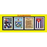 Cuba, Upaep, Banderas, Bandera, Escudo Musica 2010 Yv 4896-7