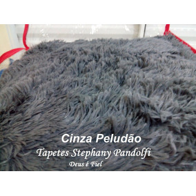 Tapete Peludo Redondo Shaggy Luxo Diametro 1,50 (1,50x1,50)